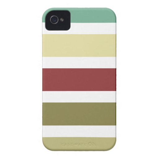 iPhone 4/4s case with colorful stripes