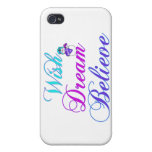 iPhone 4 - 4s Cases Snowman Wish Dream Believe Covers For iPhone 4