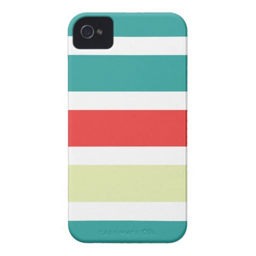 iPhone 4/4s casewith colorful stripes iPhone 4 Cover