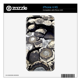 iPhone 4/4S Cover Basalt Formations Decal For iPhone 4