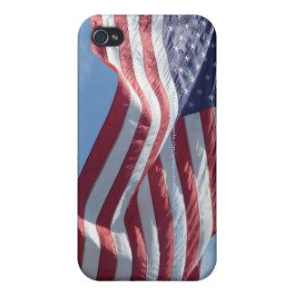 iPhone 4/4S de Flys de la bandera de los E.E.U.U. iPhone 4/4S Carcasa