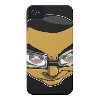 iPhone 4/4S de la sonrisa de Logik iPhone 4 Case-Mate Fundas