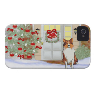 iPhone 4/4S Doggie Christmas Case