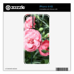 iPhone 4/4S Flower Power Skin Decals For The iPhone 4
