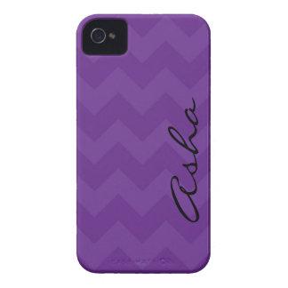 iPhone 4/4s Purple Chevron iPhone 4 Cover