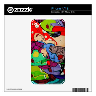 iphone 4/4s skin art by Giovanni Alejandro Decals For iPhone 4S