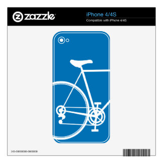 iPhone 4/4S skin Blue Skin For iPhone 4S