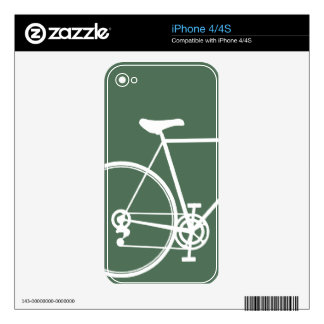iPhone 4/4S skin green Decals For iPhone 4