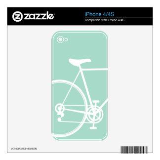 iPhone 4/4S skin Mint Green iPhone 4 Decal