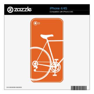 iPhone 4/4S skin Orange Decals For iPhone 4S