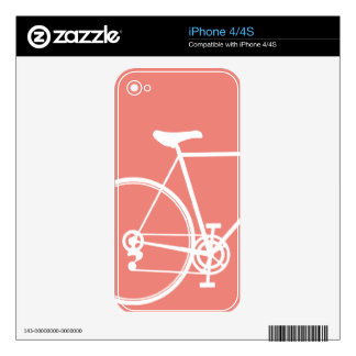 iPhone 4/4S skin Salmon Decal For The iPhone 4S