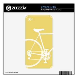 iPhone 4/4S skin Yellow Decals For iPhone 4