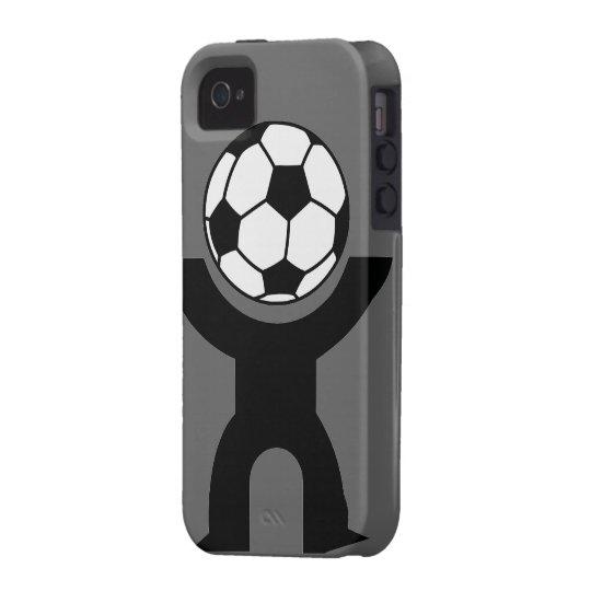 iPhone 4/4S Soccer Guy Tough Case