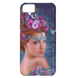 iPhone 4; 5 Cases Flower queen Case For iPhone 5C