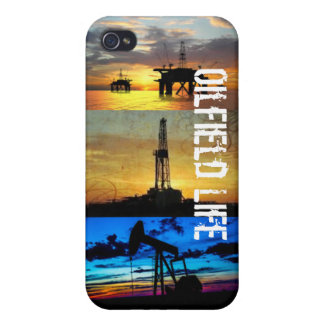 IPhone 4 and 4s Case: Oilfield Life iPhone 4/4S Covers