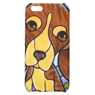 iPhone 4 and 4s Cases Dog Puppy Painting Art iPhone 5C Covers