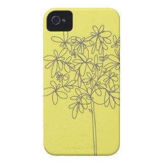 IPhone 4 and 4s cover in fun yellow
