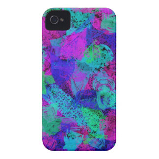iPhone 4 Barely There Case - Bright Spnge Splotch
