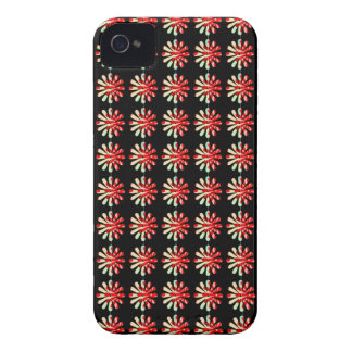 iPhone 4 Barely There Case - Crazy Retro Daisy