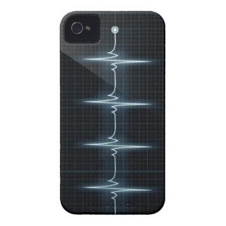 iPhone 4 Barely There del rastro del pulso del Funda Para iPhone 4 De Case-Mate