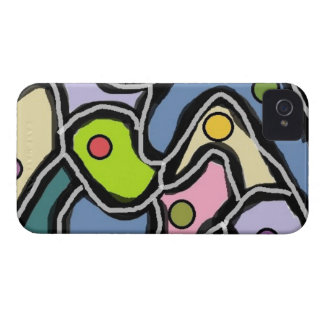iPhone 4, Barely There Geometric Pattern iPhone 4 Case