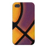 iphone 4 basketball case purple and gold