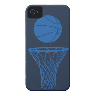 iPhone 4 Basketball Silhouette Maverick Blue Dark Case-Mate iPhone 4 Case
