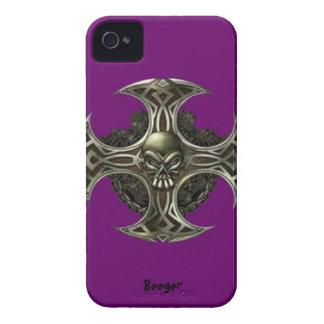 IPhone 4 BT - cuchilla del metal Case-Mate iPhone 4 Protector