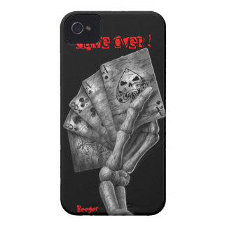 Iphone 4 bt - Game Over Deck of Cards iPhone 4 Case-Mate Case