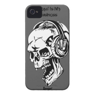 IPhone 4 bt - Metal Is My Business iPhone 4 Case