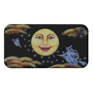 iphone 4 caja del teléfono Halloween brujas es iPhone 4 Protectores