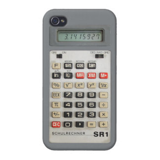 iPhone 4-Calculator DDR/GDR-SR1 iPhone 4 Cases