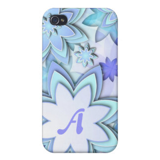 iPhone 4 Case abstract lotus flowers