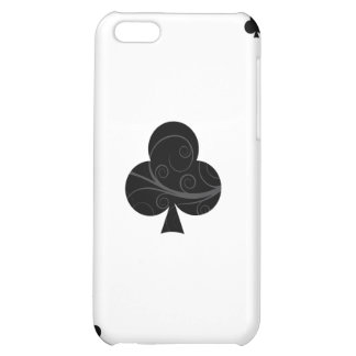 iPhone 4 Case - Ace of Clubs Playing Card
