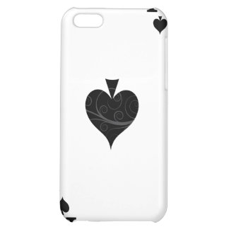 iPhone 4 Case - Ace of Spades Playing Card