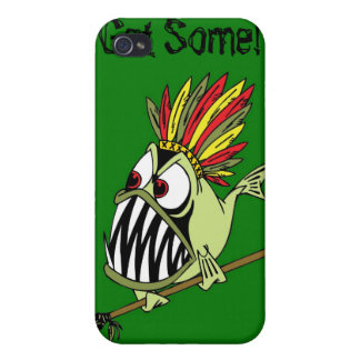 IPhone 4 Case - Animated Tribal Killer Fish