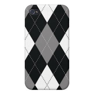 iPhone 4 Case - Argyle - Film