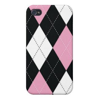 iPhone 4 Case - Argyle - RockCandy