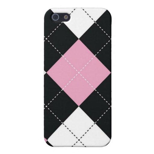 iPhone 4 Case - Argyle SQ - RockCandy