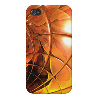 iPhone 4 Case Art Honeycomb Glass Abstract