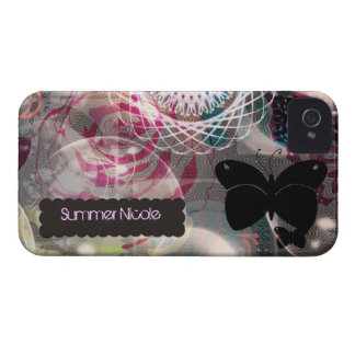 iPhone 4 Case bohemian butterfly ~ Case-Mate
