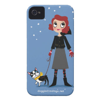"""iPhone 4 Case: Boogie Loves All-Mighty """"Baroness"""""""