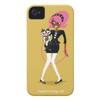 "iPhone 4 Case: Boogie Loves All-Mighty ""Big Hearts iPhone 4 Cover"