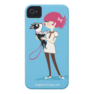 "iPhone 4 Case: Boogie Loves All-Mighty ""Boris"" Case-Mate iPhone 4 Case"
