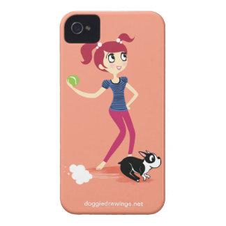 """iPhone 4 Case: Boogie Loves All-Mighty """"Skipper"""""""
