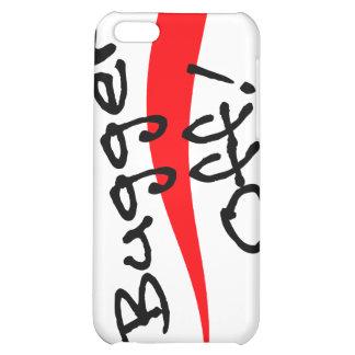 iPhone 4 Case Bugger Off! Phrase Arrow go away