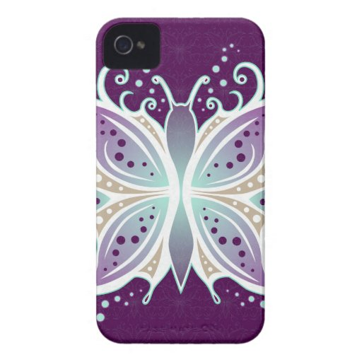 iPhone 4 Case Butterfly Abstract