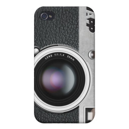 """iPhone 4 Case by NAPP - """"Camera Phone"""""""