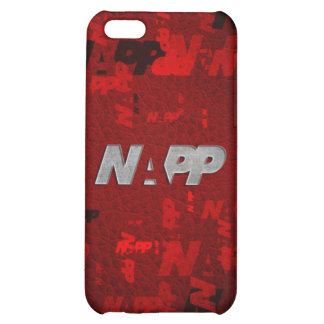"""iPhone 4 Case by NAPP - """"Red Artsy NAPP"""""""