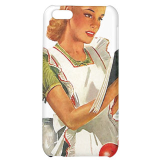 iPhone 4 Case Chic Retro Kitchen Canning Canner